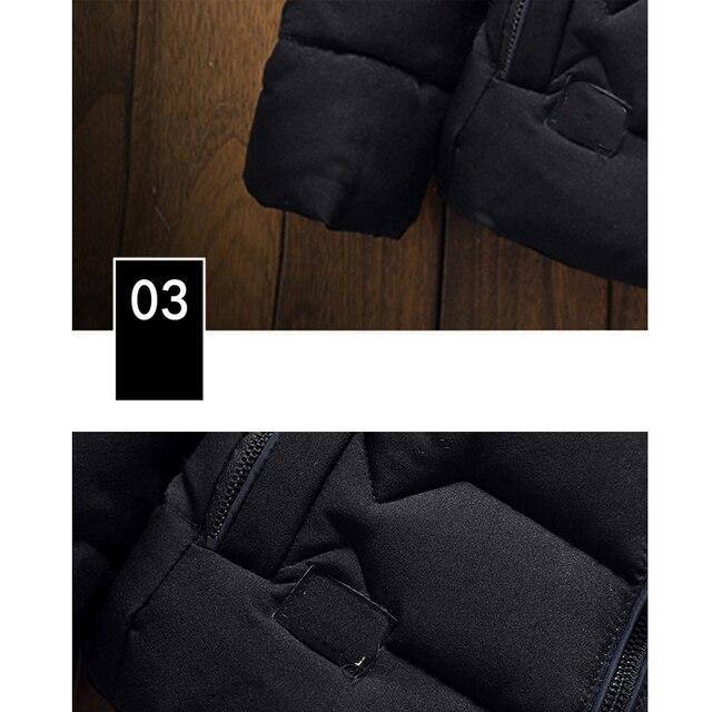 Mountainskin Winter Men Jacket 2020 Men's New Casual Thicken Warm Cotton Jacket Slim Clothes Youth Soild Jacket Men's Wear SA743 5