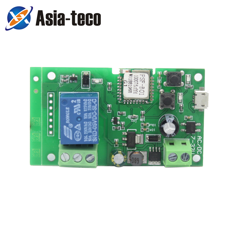 DC 5V Click The Self-Locking Module Smart Wifi Switch Relay Timer Wireless Remote Controler Alexa Google Home