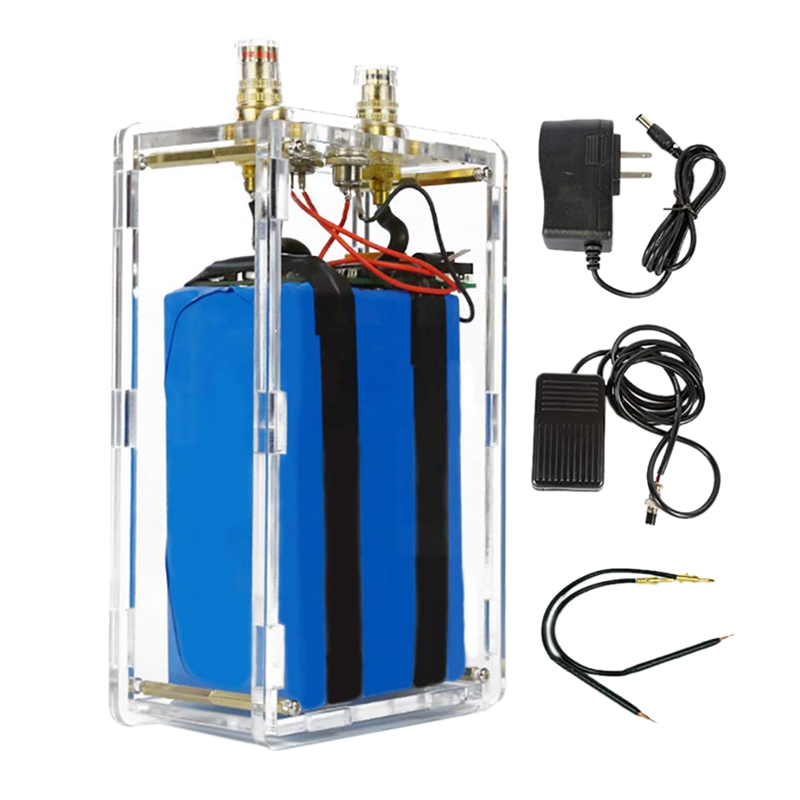 18650 Lithium Battery Pack Assembly Parts Handheld Small Shell Battery Spot Welding Machine Diy Portable Household Welding US Pl