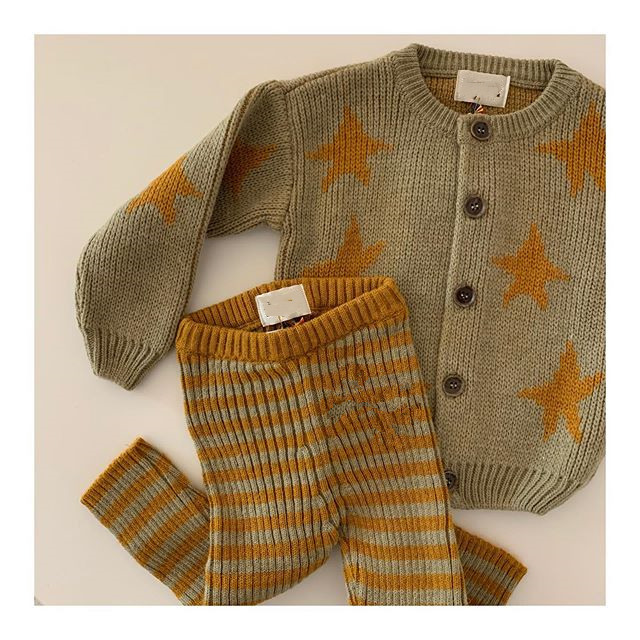 Kids Sweater Brand 2021 Autumn Winter Toddler Girl Clothes Orange Knitted Baby Boys Coat Jacket Children Fashion Girls Outfits 4