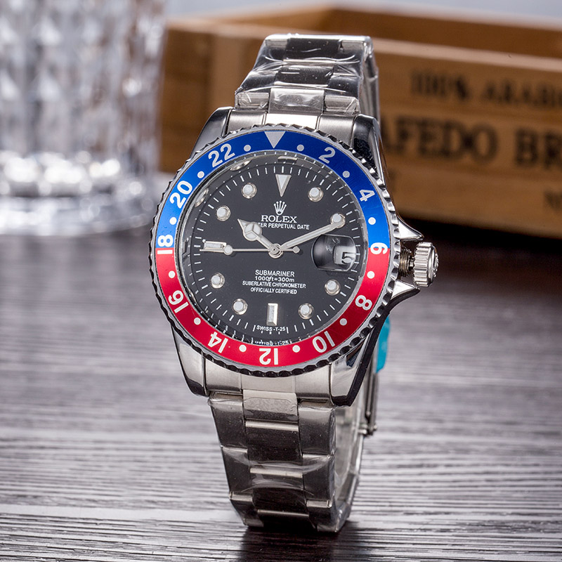 2020 hot Selling Rolex- GMT-Master- Deluxe Steel Band Men's Watch Fashion Casual Ladies Quartz Watch Gifts 128