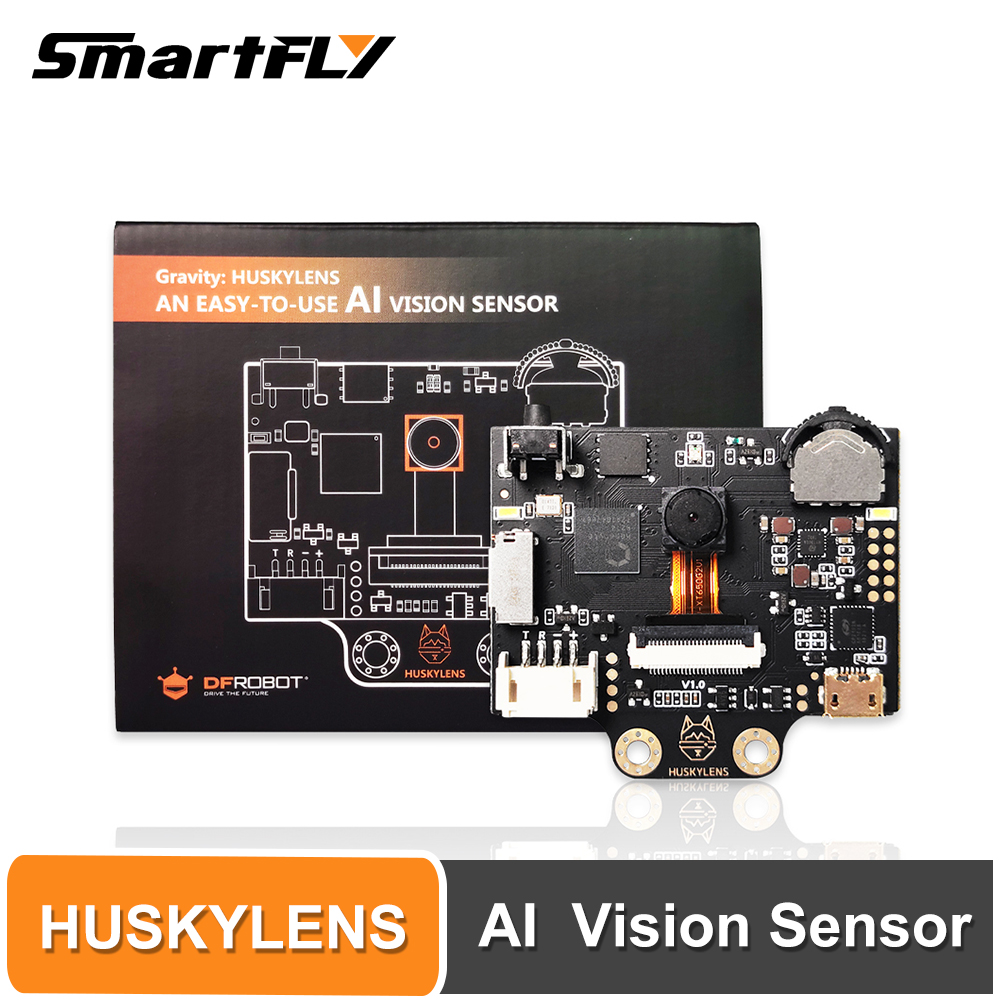 Smartfly HUSKYLENS An Easy-to-use AI Vision Sensor With IPS Screen-Object Tracking Camera For Raspberry Pi LattePanda Micro:bit
