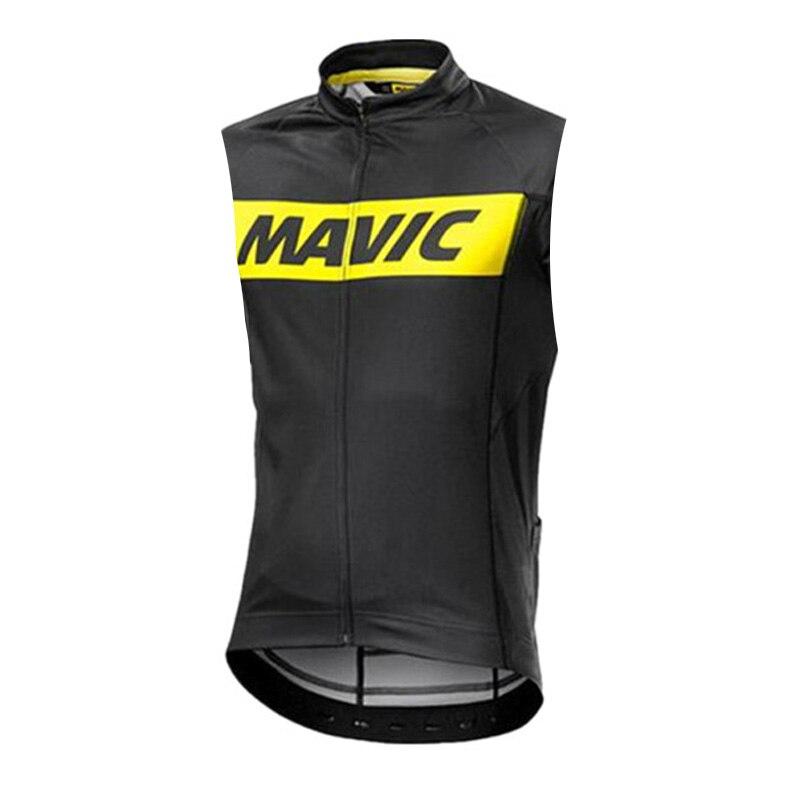 2020 MAVIC Men Pro Cycling Jersey Sleeveless Cycling Clothing Bike Shirts Quick Dry Bicycle Clothes Summer Maillot