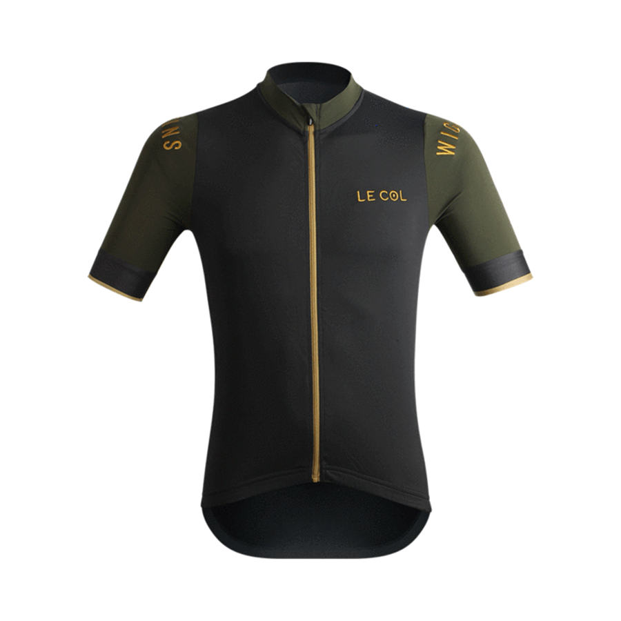 Bike Shirt Jerseys Mtb Le Col Stripes-Tight Pro-Team Sportswear Summer-Collection Fit title=