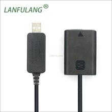 AC PW20 DC 커플러 USB 전원 케이블 NP FW50 배터리 더미 소니 A6500 A6000 ILCE 6000 ILCE 6000L ILCE 6500