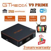 Receptor de satélite gtmedia v9 super/prime 4 tipo de energia opcional por gtmedia v8x h.265 bulit-em wifi gtmedia v7 s2x usb wi-fi grátis