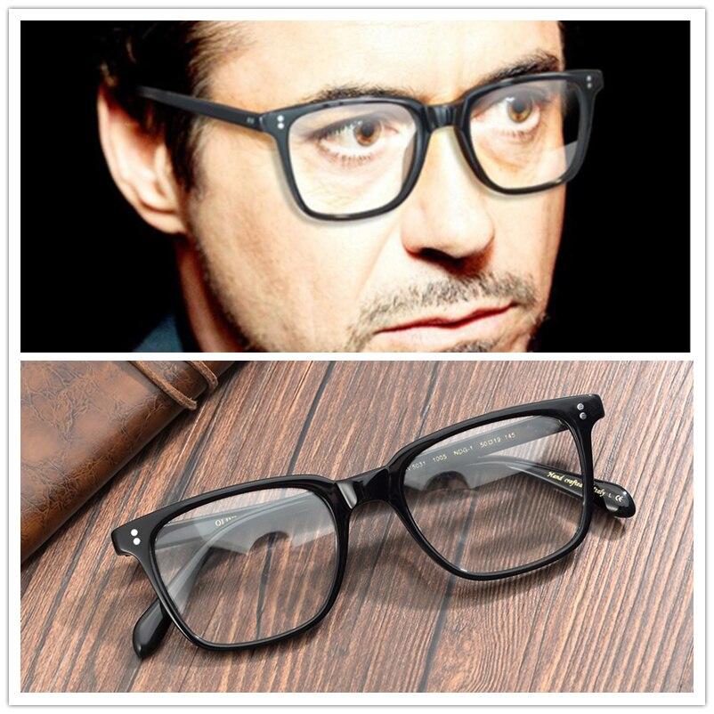 Vintage Square Optical Glasses Frame Retro Eyeglasses Men Women brand NDG OV5031 Acetate Prescription Eyewear Frames