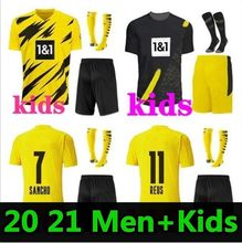 HAALAND REUS Soccer Jersey 2021 2022 Football Shirts BELLINGHAM SANCHO HUMMELS BRANDT Men + Kids Kit Maillot De Foot