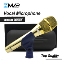 Top Quality Special Edition KSM9 Professional Live Vocals KSM9G Dynamic Wired Microphone Karaoke Super Cardioid Podcast Mike Mic