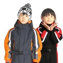 Ski Suit Kids One-piece Ski Jacket Girls Snowboard Jacket Boys Ski Jumpsuit Winter Sport Suit Kids Skiing Clothes Snowboarding