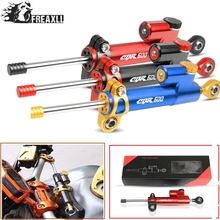 Moto CNC Motorcycle Steering Damper Stabilizer Linear Reversed Safety Control Over For HONDA CBR600 F2 F3 F4 F4i SPORT/F CBR 600