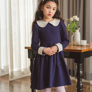 Весеннее платье для девочек-подростков, Осеннее хлопковое платье принцессы для девочек-подростков, повседневная одежда для девочек, 2020