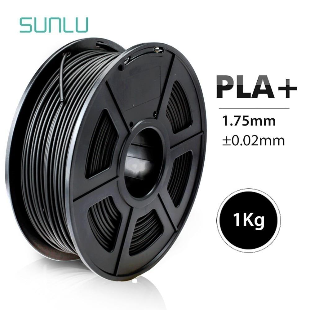 SUNLU 3D Printer Filament PLA Plus 1.75mm  High Quality PLA Filament Low Shrinkage Consumable For 3D Printer And 3D Pens 1KG