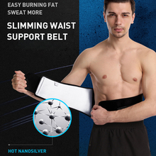 CHIWANG Waist Trimmer Belt Lumbar Back Support Gym Fitness Weightlifting Belt Adjustable Abdominal Elastic Waist Trainer ms belt between the waist dish of lumbar tractor pneumatic tensile male outstanding household waist support lumbago