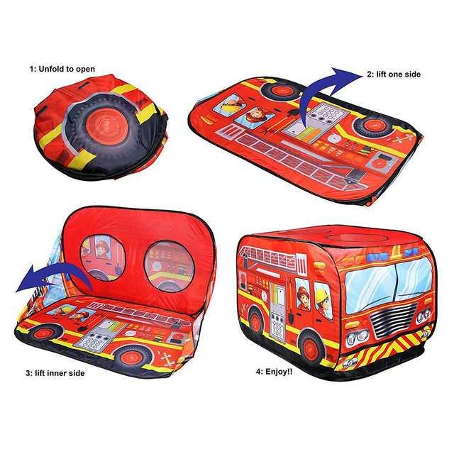 Dzieci Pop Up Play namiot zabawkowy składany domek do zabawy