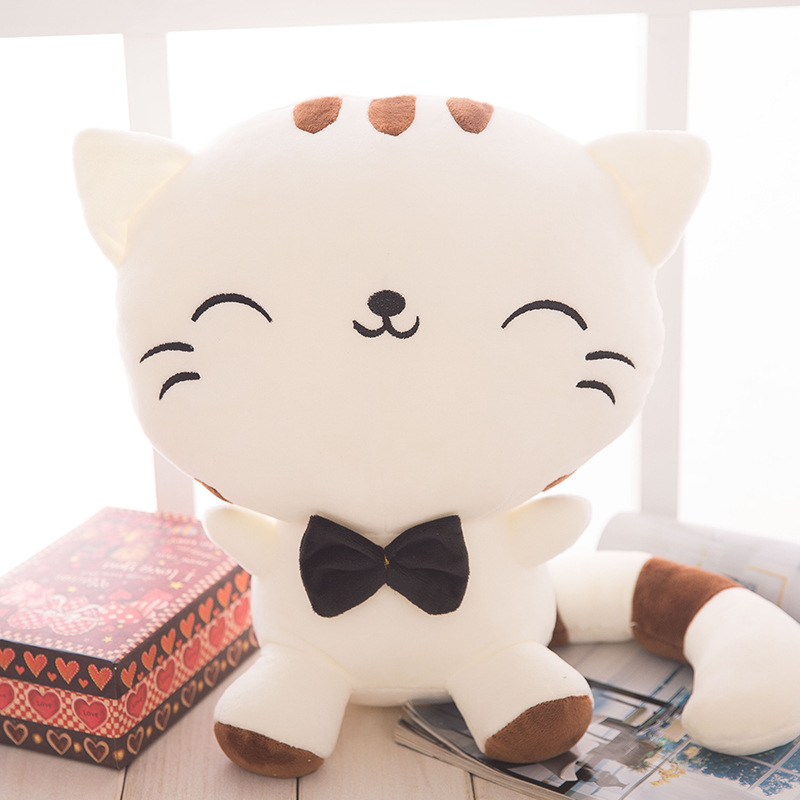<font><b>DX</b></font> New Style <font><b>Toy</b></font> Creative Super Soft Big Cat Face Plush Doll 2019 <font><b>Toy</b></font> image