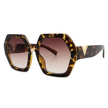 2021 Luxury Square Sunglasses Ladies Fashion Glasses Classic Brand Designer Retro Sun Glasses Women Sexy Eyewear Unisex Shades - MULTI