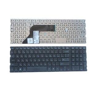 Image 1 - Russische tastatur FÜR HP ProBooK 4510 4710 4510S 4515S 4710S 4750S RU laptop tastatur Ohne rahmen