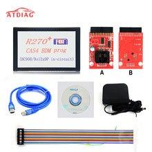 R270 + cas4 bdm prog programação automática r270 v1.20 programador para professionalak90 programa chave automática