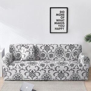 Image 1 - Floral Sofa Covers for Living Room Elastic funda sofa Sofa Slipcovers Sofa Towel Couch Cover fundas sofas con chaise longue 1PC