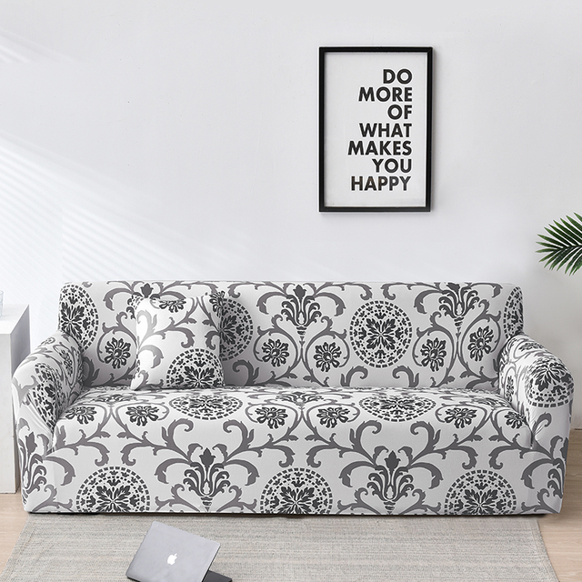Floral Sofa Covers for Living Room Elastic funda sofa Sofa Slipcovers Sofa Towel Couch Cover fundas sofas con chaise longue 1PC
