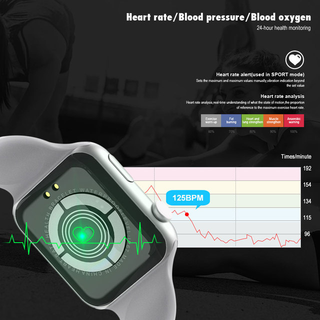 VERYFiTEK F10, Monitor Heart Rate, Blood Pressure, Sport Watch and much more…