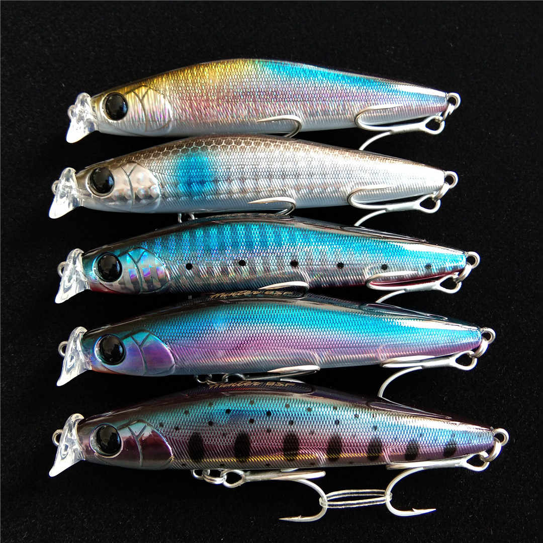 Lot 5pcs Hard Plastic Popper Lure Bait Floating Top Water Saltwater Tackle 10g