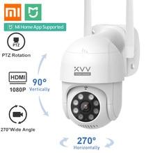 Xiaomi akıllı açık IP kamera P1 1080P PTZ döndür Wifi Webcam insansı algılama su geçirmez güvenlik kamera için çalışmak Mi ev uygulaması