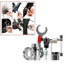 Set of 6pcs bike chain wheel repair tools set flywheel sprocket
