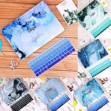 Nueva funda de mármol con impresión 3D para MacBook, funda para ordenador portátil para MacBook Air Pro Retina 11 12 13 15 13,3 15,4 pulgadas Torba