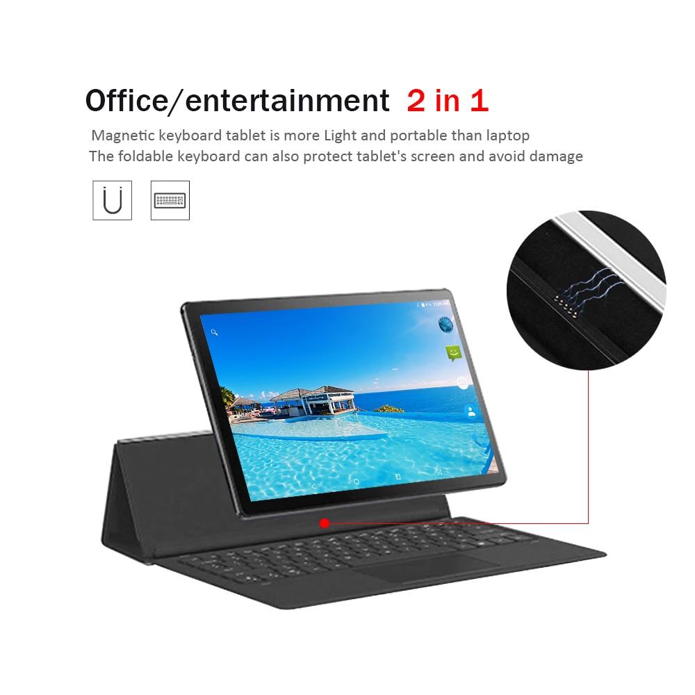 ram 256g 2020 256G אנדרואיד 9.0 Tablet 11.6 אינץ מסך מגע Tablet PC 10 דקו Core מעבד 8GB RAM 256GB ROM 4G התקשר לטלפון 13MP cameral (2)