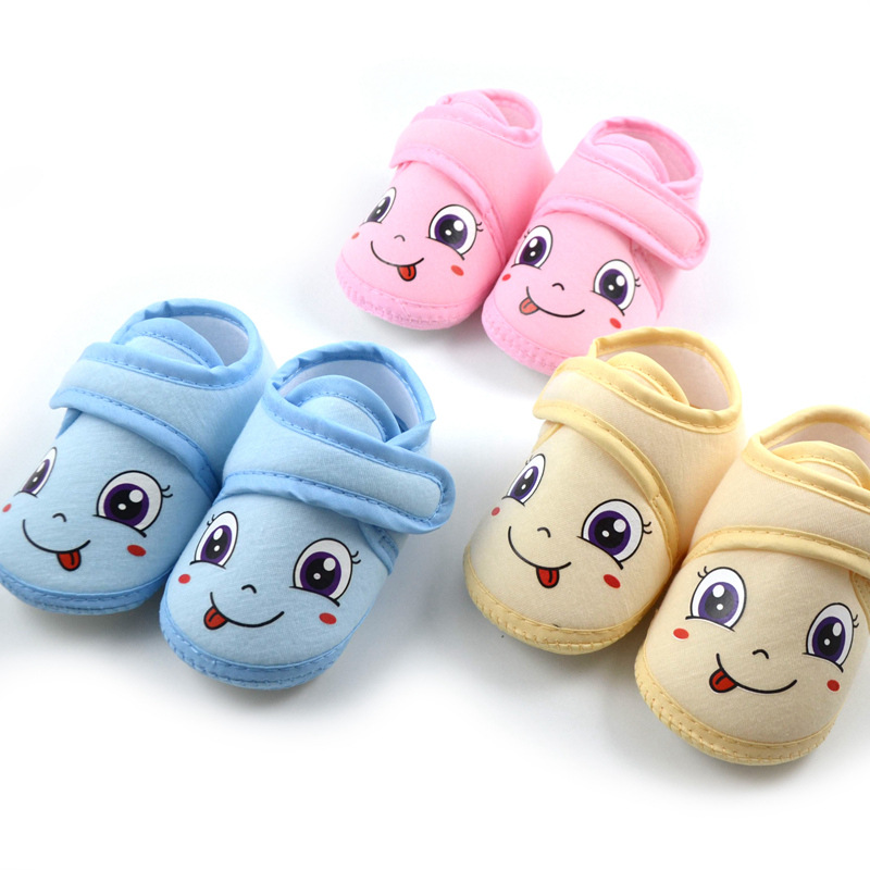 DOGEEK Spring Cute Baby Shoes New Cribe Shoes Soft Sole Non-slip Cartoon Baby Toddler Shoes Infant Boy Girl First Walking Shoes | Happy Baby Mama
