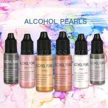 15ml Metallic Alcohol Pigment Resin Dye Alcohol-Based Ink Concentrated Paint Epoxy Resin