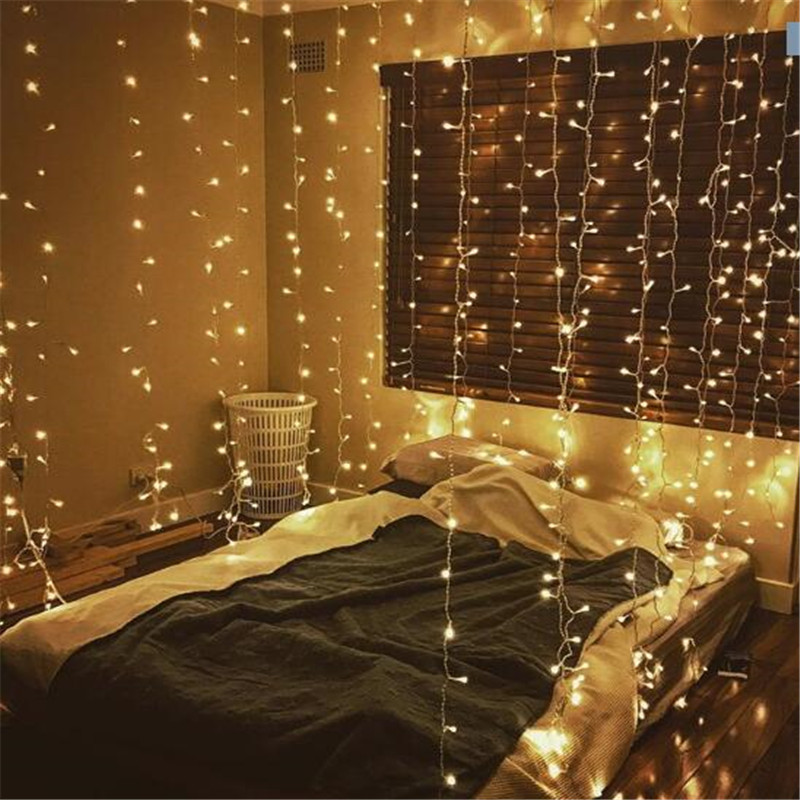2020 New Year Garland Christmas Decorations For Home Lights 10M 20M 30M 50M 100M For Christmas Tree Decoration LED String Lights
