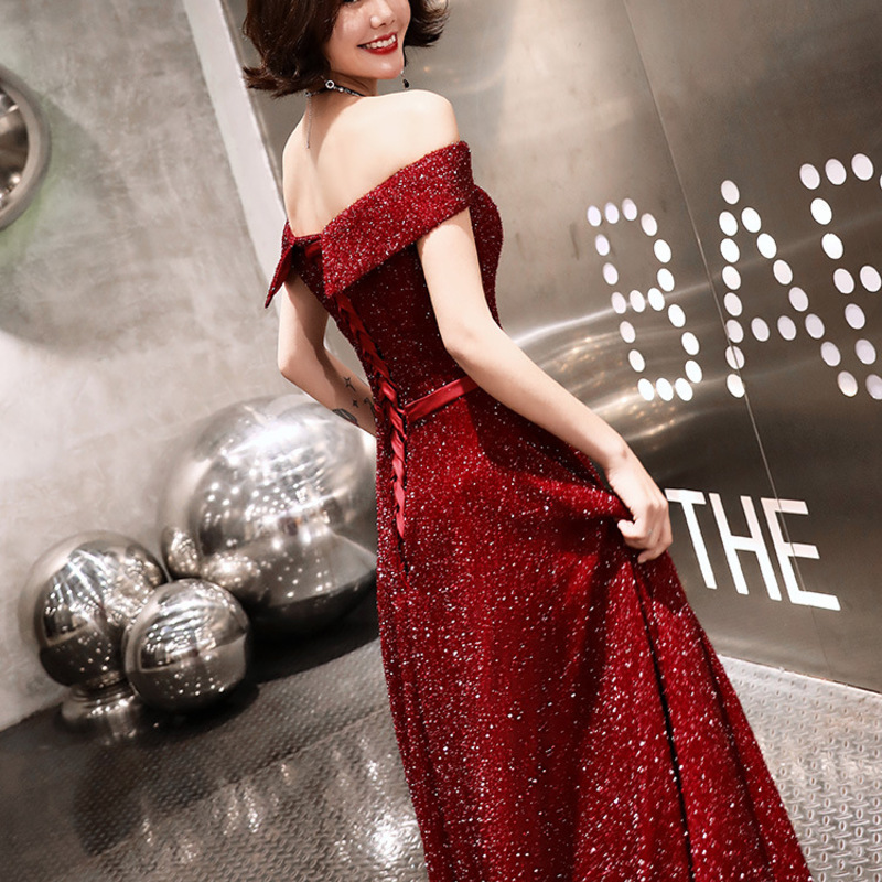 2020 New Arrival Limited Cocktail Dress Evening Dress Long Bride Toast Wedding Modern Celebrity Banquet Noble Host