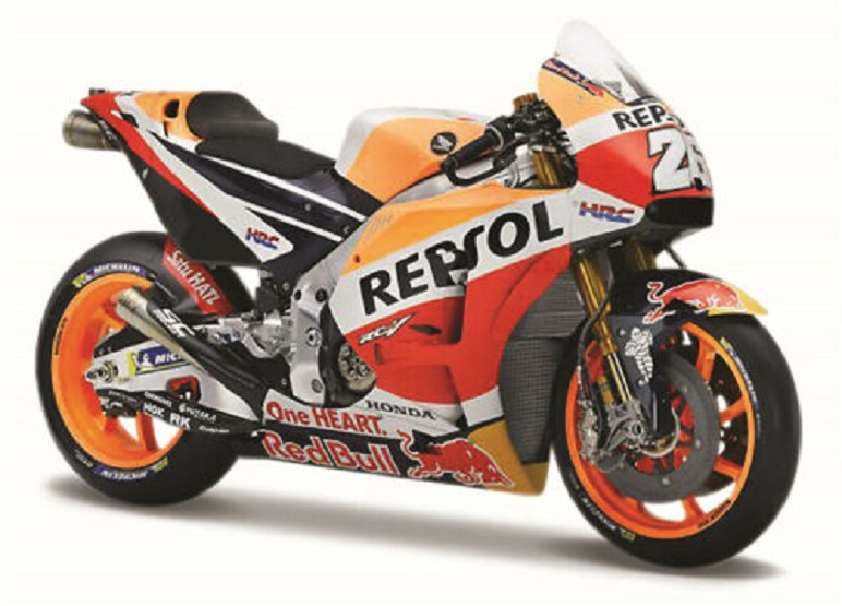 Maisto 1:18 2018 Honda Repsol #26 Dani Pedrosa Motorcycle Bike Model NEW IN BOX