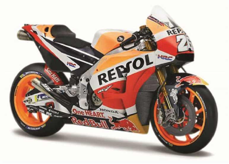 HONDA RCV213 2017 MARC MARQUEZ 93 MOTO GP HRC REPSOL MAISTO 1:10