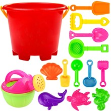 Sand-Playing-Toys Shovel-Tool Beach-Tools-Set Water Kids Child 14pcs for Fun Gifts -Hp
