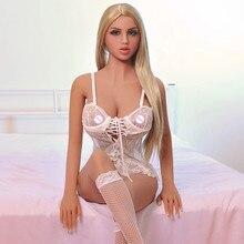 Muñeca sexual japonesa para adultos, juguete sexual de TPE completo de 158cm con esqueleto, Vagina, coño realista, Sexy