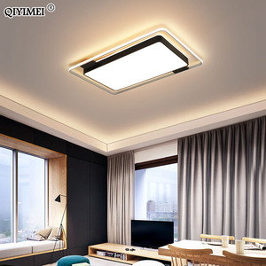 Image 3 - Dimmable Chandeliers Lights Living Bedroom Dining  Kitchen Study Room  black  gold color Surface Mounted lamp fixtures