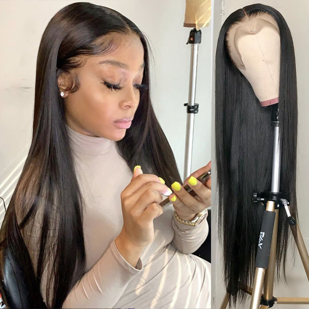 Lace Front Human Hair Wigs Bob Lace Front Wigs 13x4 Straight Hd Full Frontal Brazilian 28 30 Inch Wig Lace Front Human Hair Wigs