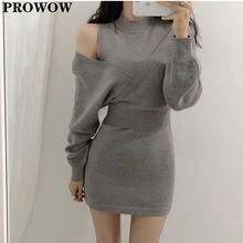 Женское трикотажное платье свитер из двух частей осенне зимнее