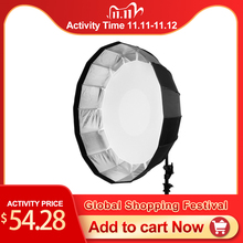 Selens 85cm guarda chuva radar softbox estúdio luz fotografia luz flash guarda chuva fotografia acessórios