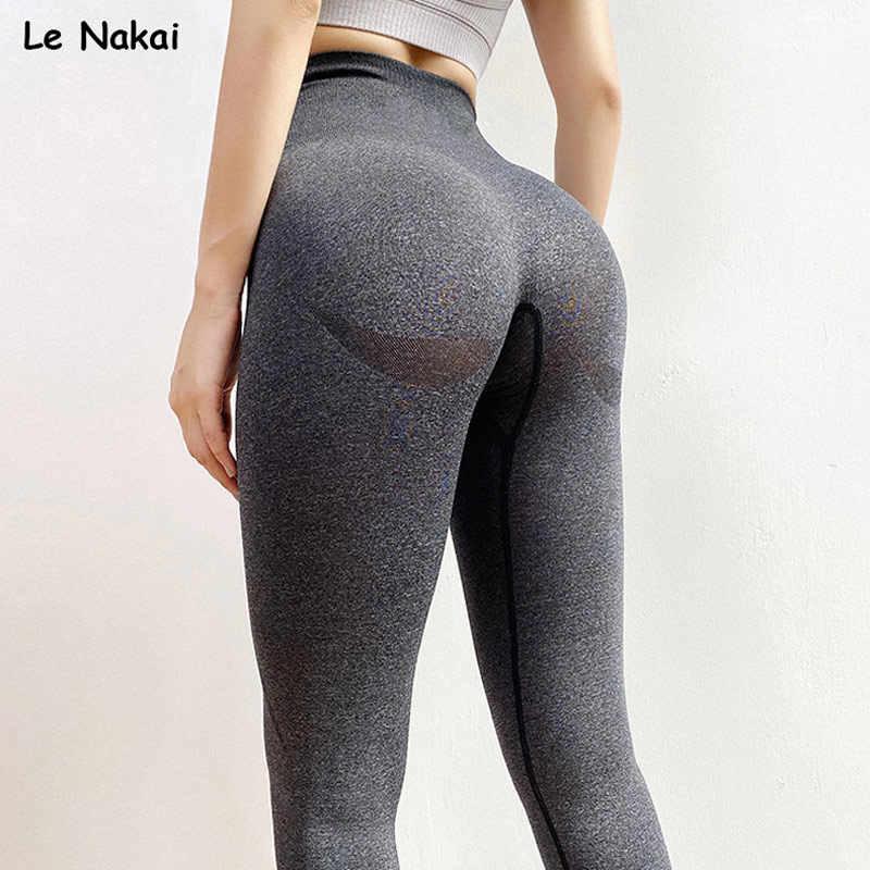 Neue vital nahtlose leggings für frauen workout gym legging hohe taille fitness yoga hosen butt booty legging sport leggings