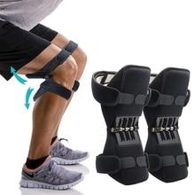 Rodilleras de soporte para las articulaciones, correas direccionales ajustables de fuerza de resorte de rebote potente para aliviar el dolor articular