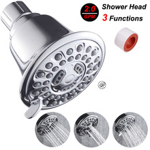 New Top Spray Shower head embedded in the wall pressurized water-saving American shower Bathroom Square