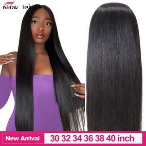 Ishow 4*4 fechamento de parte livre tecer cabelo encaracolado brasileiro 8-20 polegada não remy cabelo fechamento do laço suíço com o cabelo do bebê densidade 130%