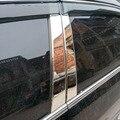 Автомобильный Стайлинг 4 шт. для honda accord 2003-2007 нержавеющая хромированная Автомобильная оконная стойка крышка Накладка
