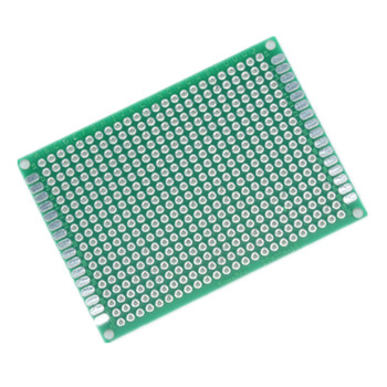 5 X 7CM Double-Sided Solder Coating Universal Board 5CM * 7CM Double-Sided Tin Experimental Board lulin arts&cralts you ban