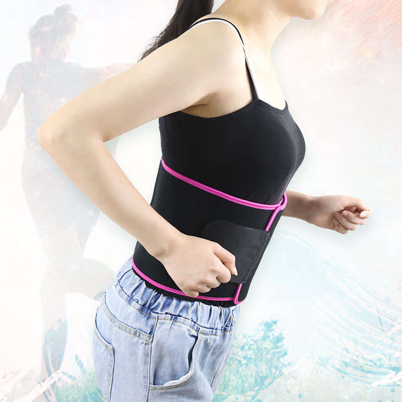 New Products Men And Women Sports Fitness Waist Hugging Elasticity Compression Strain Back Pain Waist Corset-Shape Protecting Ba